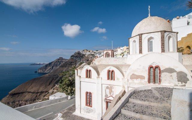 Отель Santorini Reflexions Volcano вид на фасад