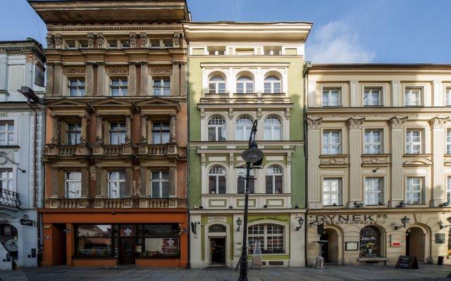 Апартаменты Very Berry Apartments Kramarska 18 Познань вид на фасад