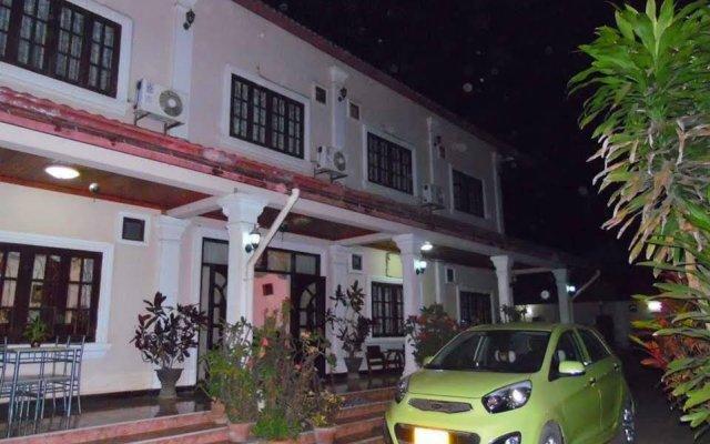 Отель Peeyada Guesthouse вид на фасад
