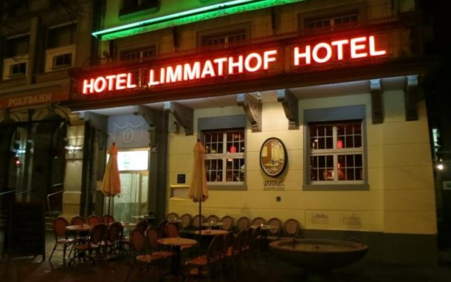 Hotel Limmathof вид на фасад