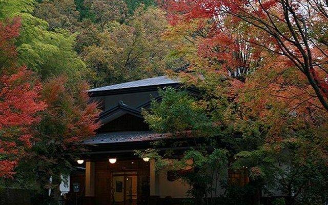Отель Okunoyu Минамиогуни вид на фасад