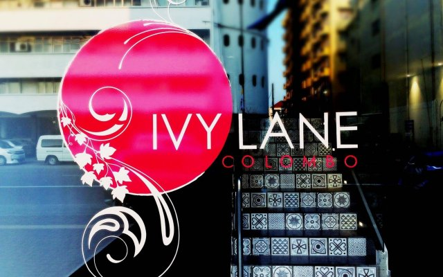 Отель Ivy Lane Colombo вид на фасад