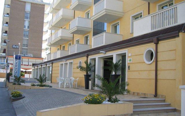Отель Residence T2 Италия, Римини - 2 отзыва об отеле, цены и фото номеров - забронировать отель Residence T2 онлайн вид на фасад