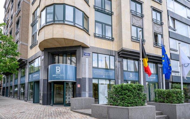 Отель B-aparthotel Ambiorix Бельгия, Брюссель - отзывы, цены и фото номеров - забронировать отель B-aparthotel Ambiorix онлайн вид на фасад