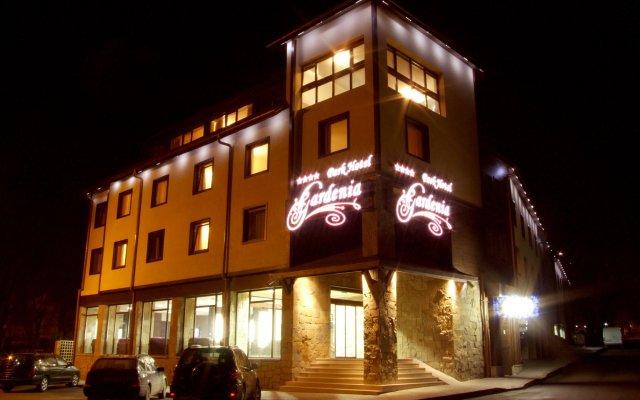 Park Hotel Gardenia Банско вид на фасад