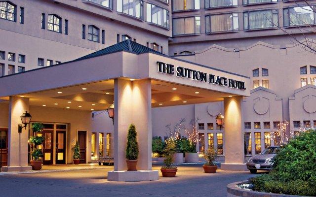 Отель The Sutton Place Hotel Vancouver Канада, Ванкувер - отзывы, цены и фото номеров - забронировать отель The Sutton Place Hotel Vancouver онлайн вид на фасад