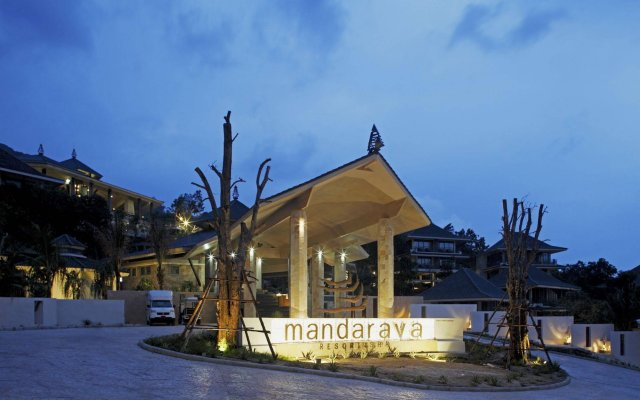 Отель Mandarava Resort and Spa Karon Beach вид на фасад