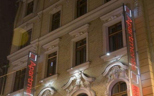 Отель Aparthotel Pergamin Краков вид на фасад