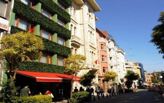 Albatros Hagia Sophia Hotel вид на фасад