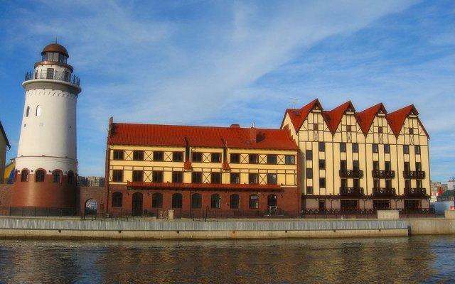 Отель Шкиперская Калининград вид на фасад