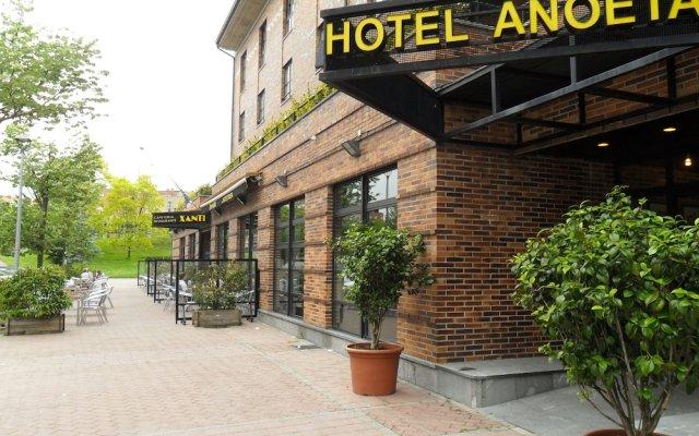 Отель Anoeta Испания, Сан-Себастьян - отзывы, цены и фото номеров - забронировать отель Anoeta онлайн вид на фасад