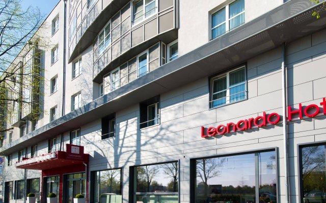 Отель Leonardo Hotel Munich City Olympiapark Германия, Мюнхен - 2 отзыва об отеле, цены и фото номеров - забронировать отель Leonardo Hotel Munich City Olympiapark онлайн вид на фасад