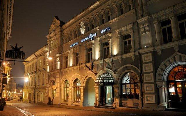 Отель Europa Royale Vilnius Hotel Литва, Вильнюс - - забронировать отель Europa Royale Vilnius Hotel, цены и фото номеров вид на фасад