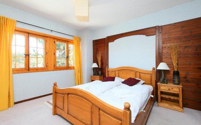 Отель Les Cèdres Нендаз комната для гостей