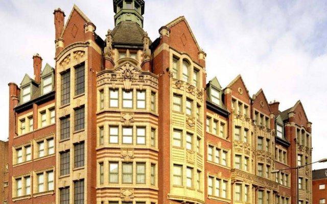 Отель Malmaison Manchester Манчестер вид на фасад