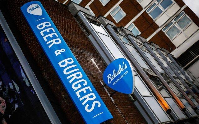 Отель St Christophers Inn Shepherds Bush Великобритания, Лондон - отзывы, цены и фото номеров - забронировать отель St Christophers Inn Shepherds Bush онлайн вид на фасад