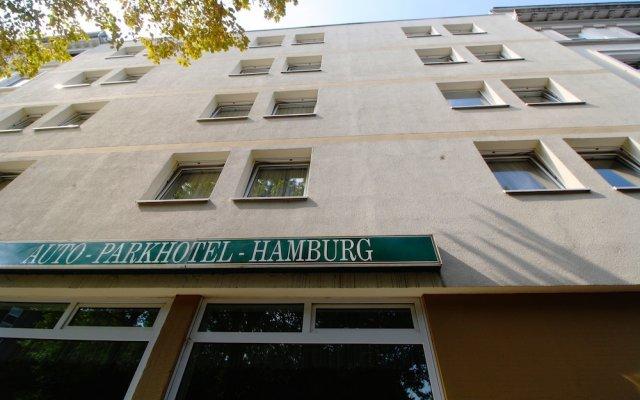 Отель Auto-Parkhotel Германия, Гамбург - отзывы, цены и фото номеров - забронировать отель Auto-Parkhotel онлайн вид на фасад