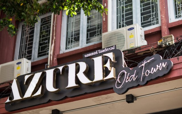 Azure Hostel Bangkok Бангкок вид на фасад