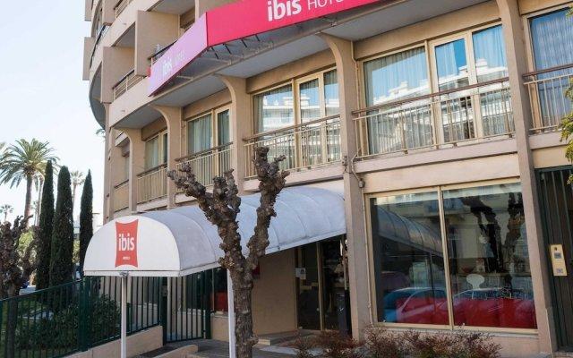 Отель ibis Cannes Plage La Bocca Франция, Канны - отзывы, цены и фото номеров - забронировать отель ibis Cannes Plage La Bocca онлайн вид на фасад
