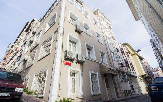 Апартаменты Feyza Apartments вид на фасад