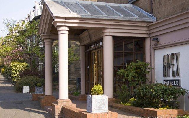 Отель Apex Haymarket Эдинбург вид на фасад