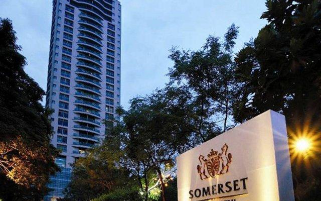 Отель Somerset Park Suanplu Bangkok вид на фасад