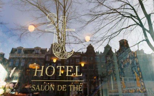 Отель 't Hotel Нидерланды, Амстердам - отзывы, цены и фото номеров - забронировать отель 't Hotel онлайн вид на фасад