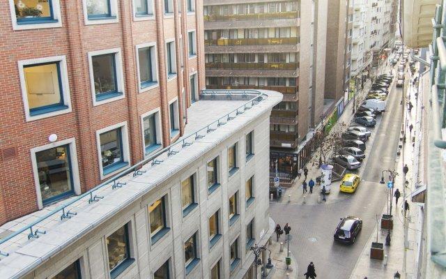 7x24 Central Hostel Будапешт вид на фасад