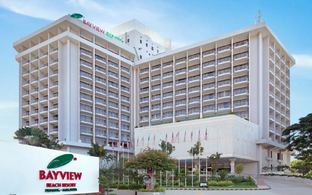 Отель Bayview Beach Resort Малайзия, Пенанг - 6 отзывов об отеле, цены и фото номеров - забронировать отель Bayview Beach Resort онлайн вид на фасад