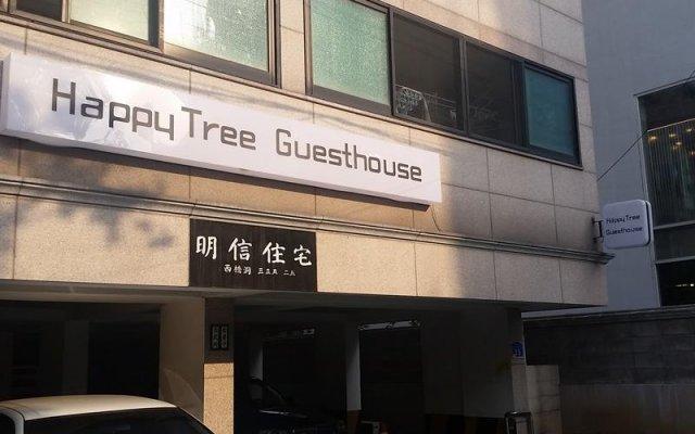 Отель Happytree Guesthouse Южная Корея, Сеул - отзывы, цены и фото номеров - забронировать отель Happytree Guesthouse онлайн вид на фасад
