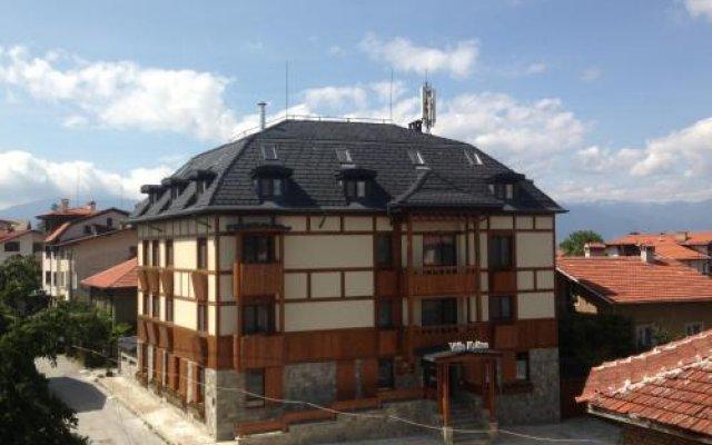 Отель Villa Kalina Банско вид на фасад