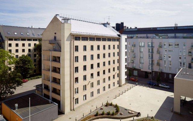 Отель Both Helsinki вид на фасад