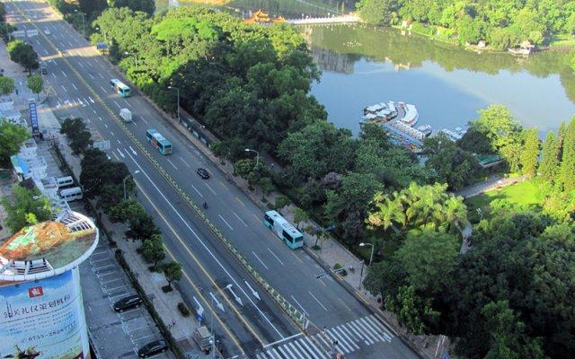 Shenzhen Kingkey International Youth Hostel Шэньчжэнь приотельная территория