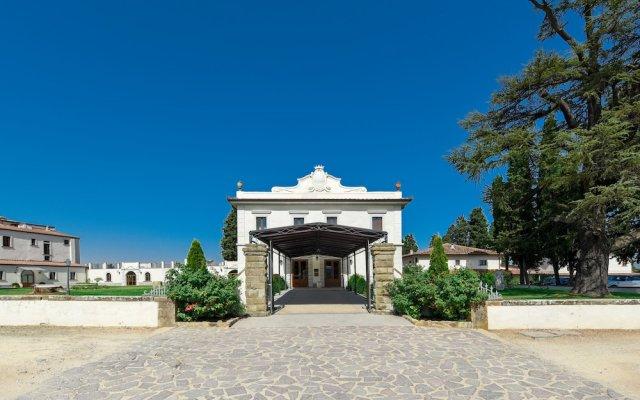 Villa Tolomei Hotel & Resort Флоренция вид на фасад