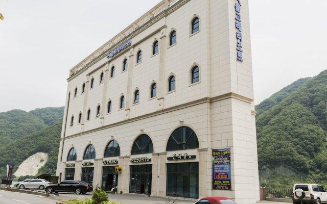 Отель Dolgorae Resort вид на фасад