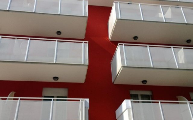Hotel Tritone вид на фасад