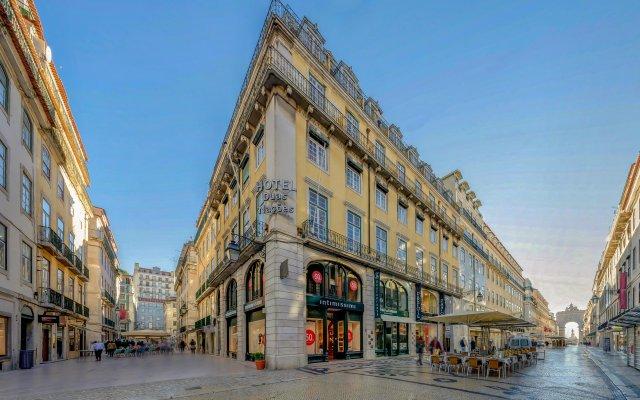 Hotel Duas Nações Лиссабон вид на фасад