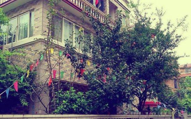 Number 3-1 Youth Hostel Chengdu вид на фасад