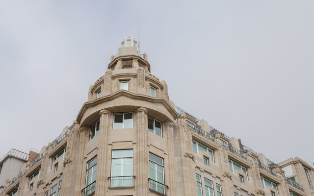 Апартаменты Liiiving - Aliados Luxury Apartments Порту вид на фасад