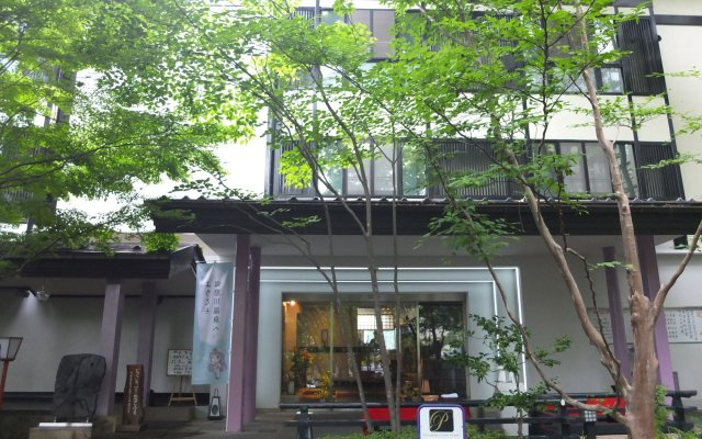 Отель Kinugawa Park Hotels Park Cottage Никко вид на фасад