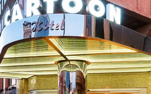 Cartoon Hotel вид на фасад