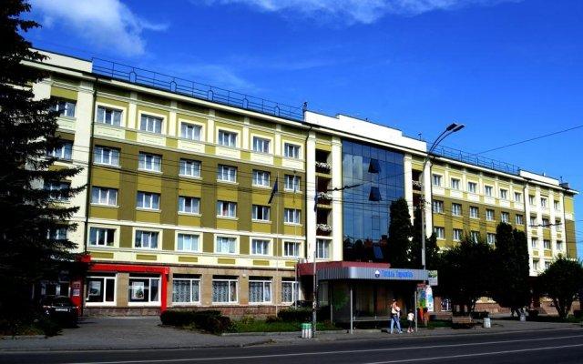 Гостиница Тернополь вид на фасад