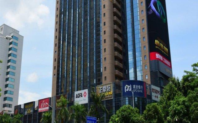 Отель South Union Hotel Китай, Шэньчжэнь - отзывы, цены и фото номеров - забронировать отель South Union Hotel онлайн вид на фасад