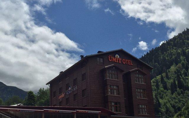 Отель Ayder Umit Otel вид на фасад