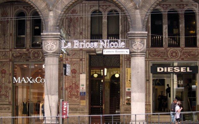 Отель Guesthouse La Briosa Nicole Генуя вид на фасад