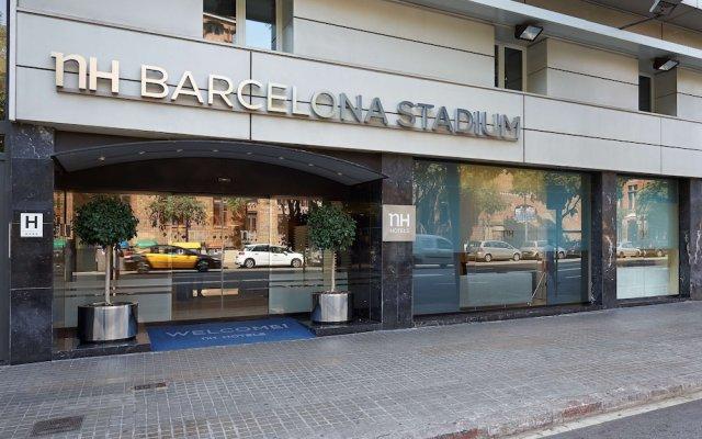 Отель NH Barcelona Stadium Испания, Барселона - отзывы, цены и фото номеров - забронировать отель NH Barcelona Stadium онлайн вид на фасад