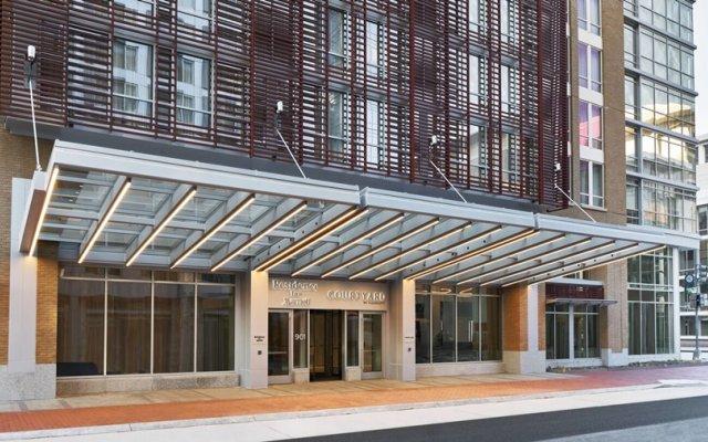 Отель Courtyard Washington Convention Center США, Вашингтон - отзывы, цены и фото номеров - забронировать отель Courtyard Washington Convention Center онлайн вид на фасад