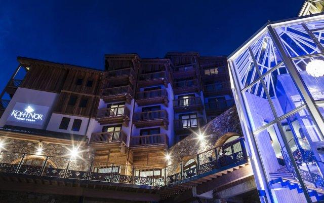 Hotel Koh-I Nor Val Thorens вид на фасад