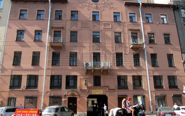 Престиж Центр Отель вид на фасад