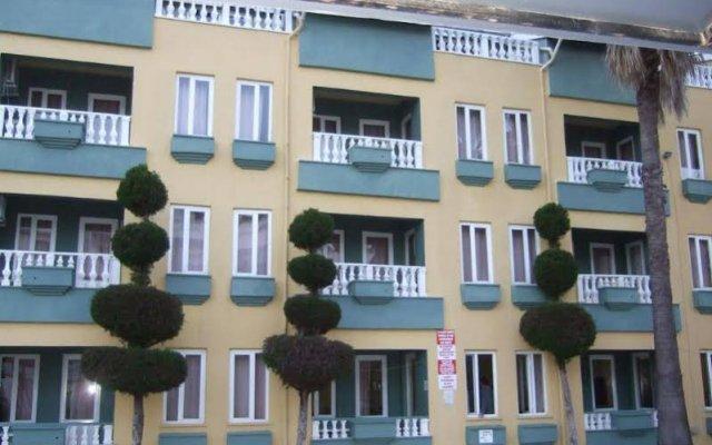 Отель Club Sunset Apart вид на фасад